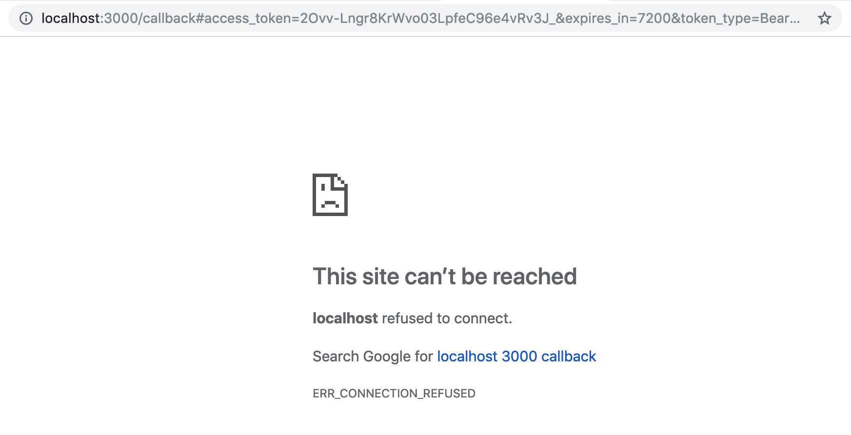 Auth0 successful callback 404 page