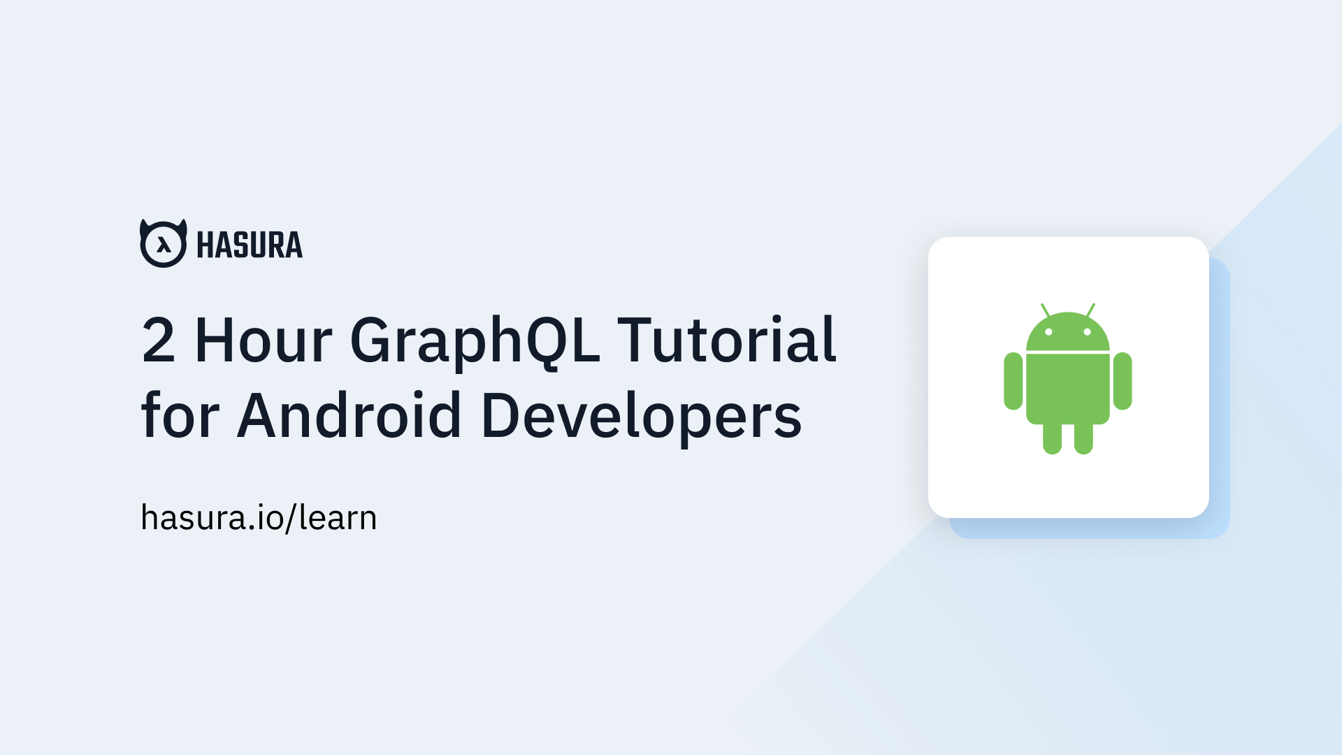 Apollo Client GraphQL Setup | GraphQL Android Apollo Tutorial