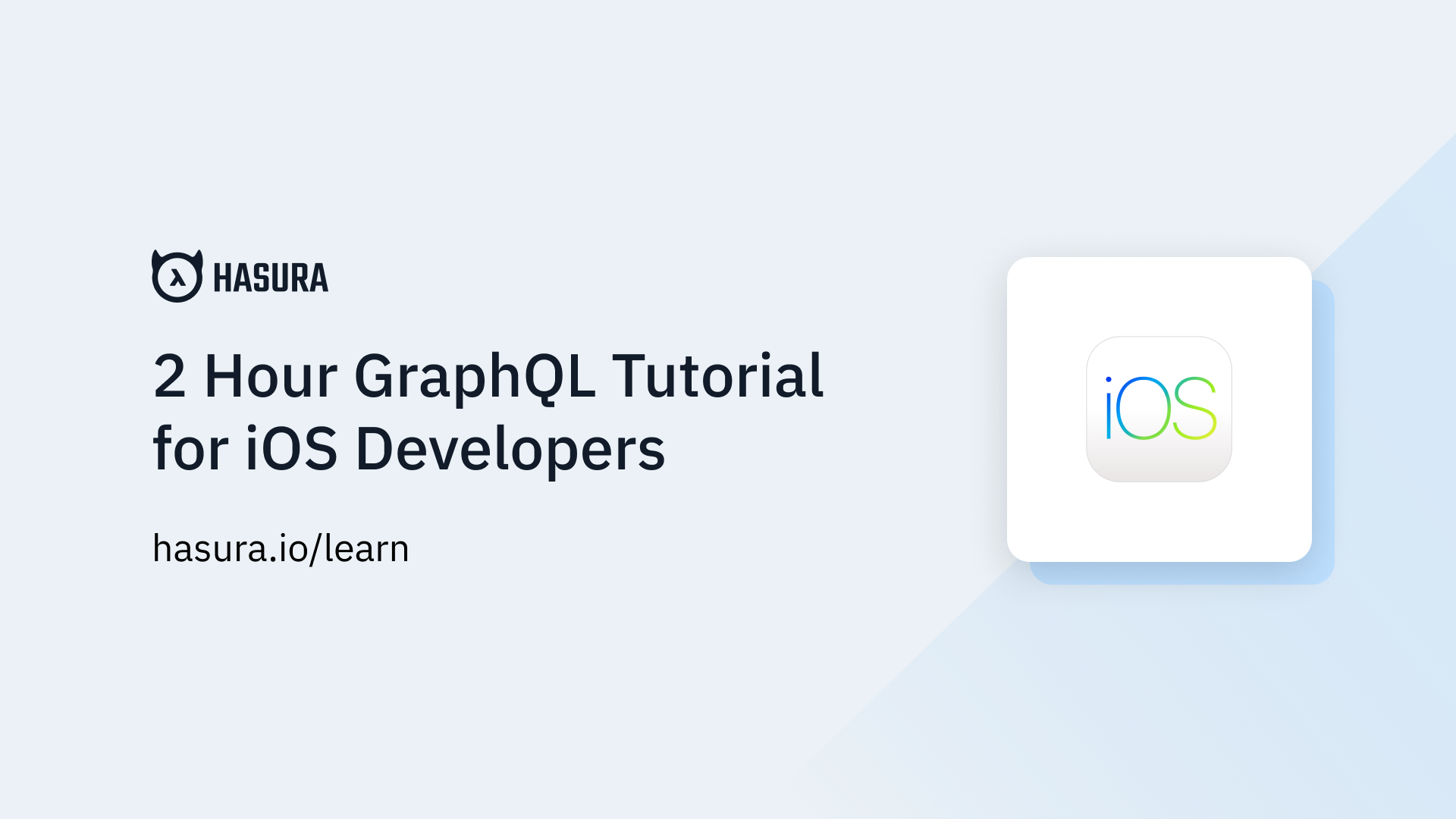 Intro to GraphQL | GraphQL iOS Apollo Tutorial